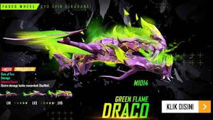 M1014 Green Flame Draco