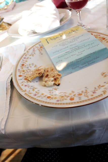 A Watercolor Daffodil Passover Seder | Land of Honey