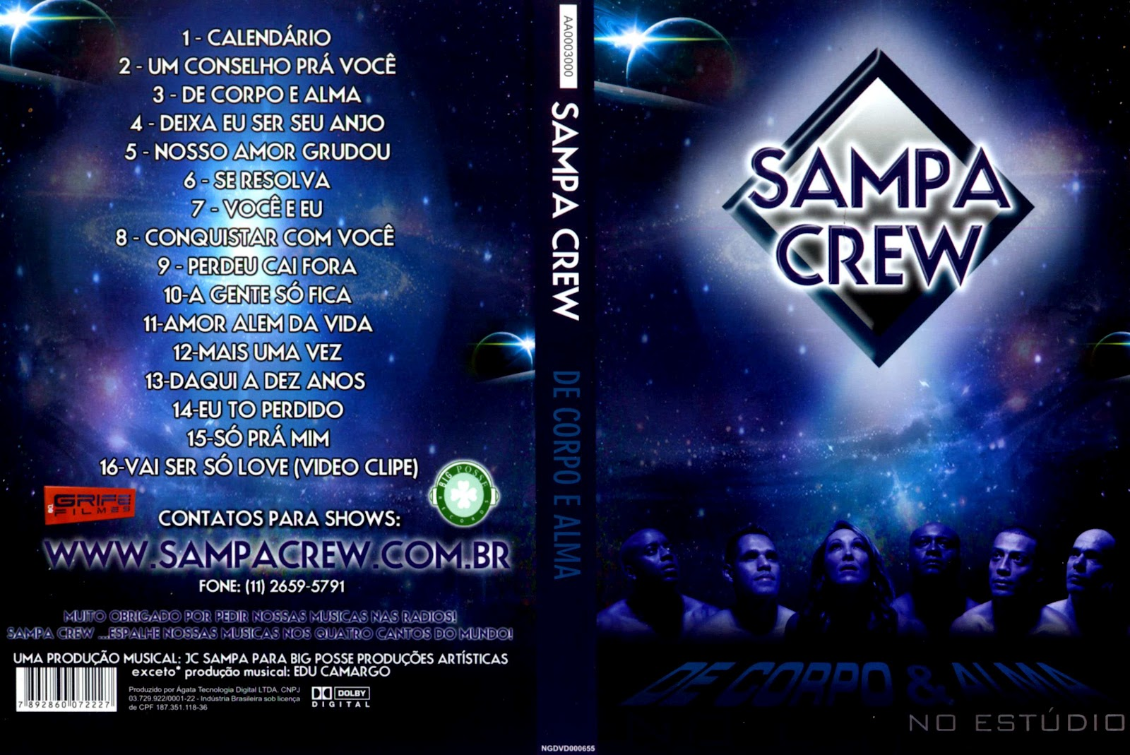 videos do sampa crew para