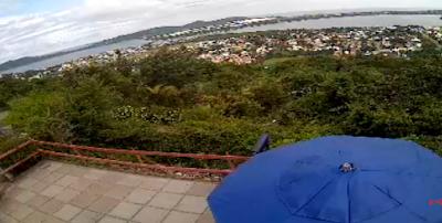 Câmera ao vivo do Mirante da Lagoa
