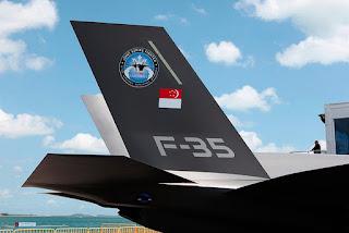 Jet Tempur Siluman F-35 Singapura