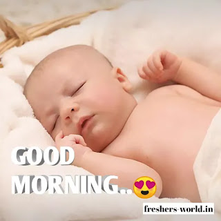 good morning with baby, good morning images baby