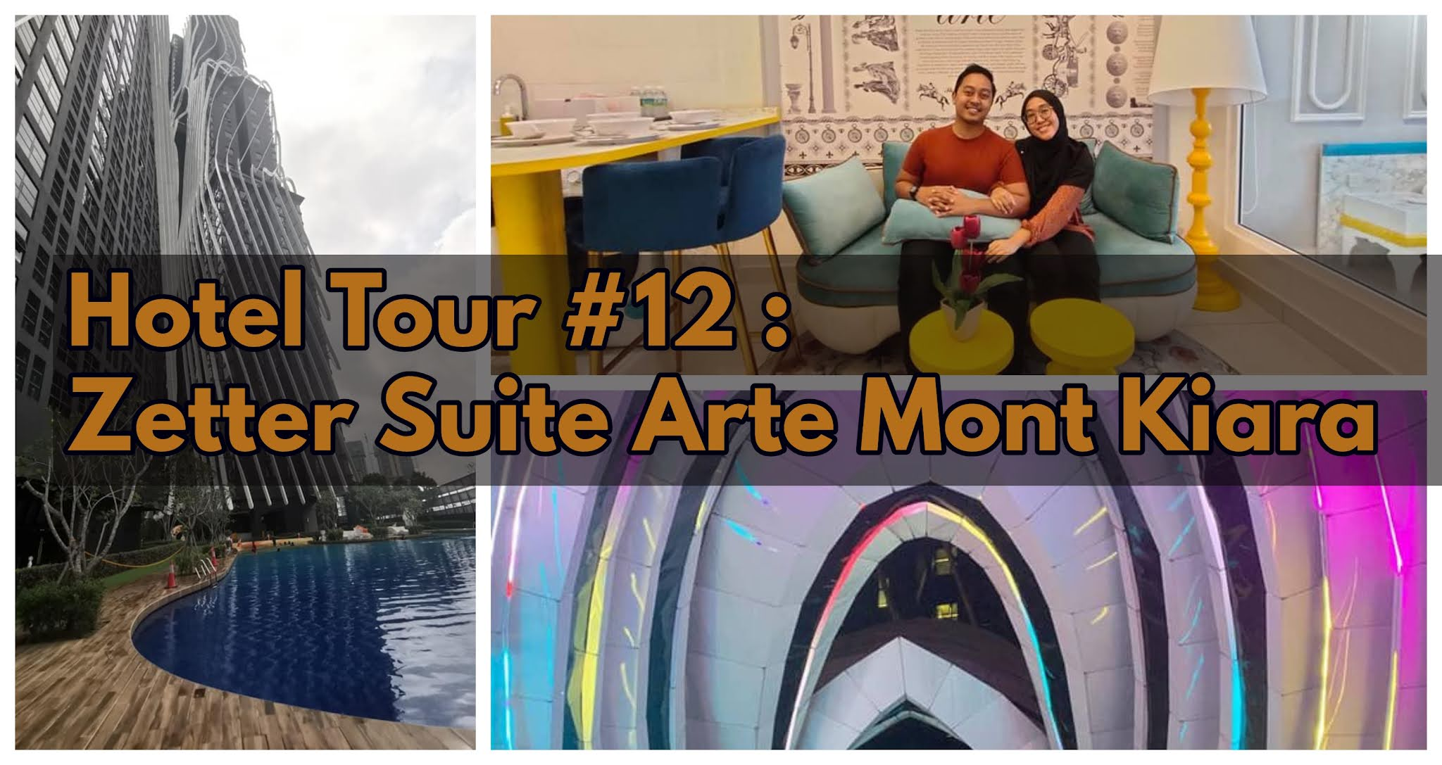 Hotel Tour #12 :  Zetter Suite Arte Mont Kiara   Apartment Suite Mewah Dengan Interior Unik!