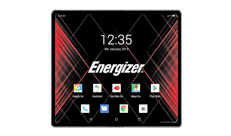 Energizer Launches Power Max P8100S 5G Foldable Phone