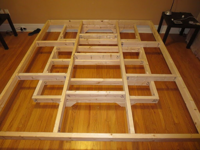 Floating beds how to make