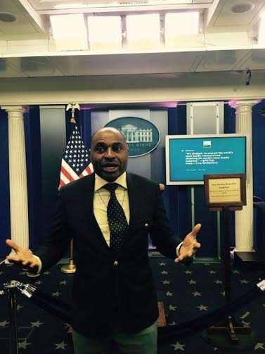 Actor Kenneth Okonkwo Takes A Tour Of The White House