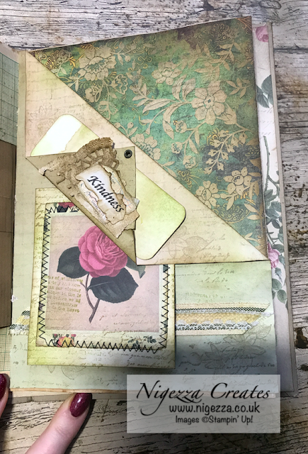 Nigezza Creates My First Junk Journal: Folded Page Pocket