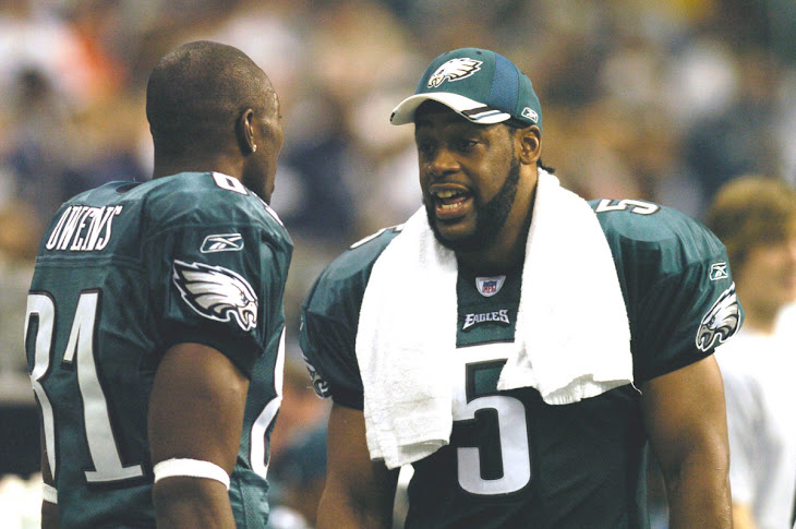 Terrell Owens Want To Fight McNabb