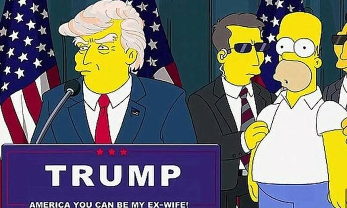 Inacreditável as vezes que série Os Simpsons previram o futuro e você não percebeu