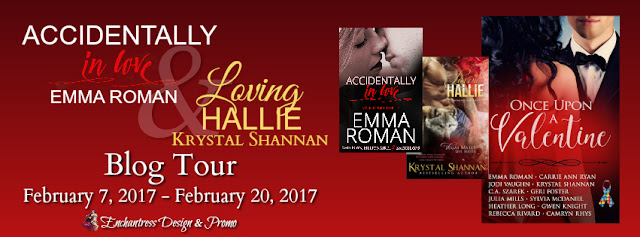 "Blog Tour – Emma Roman's ""Accidentally In Love"" and Krystal Shannan's ""Loving Hallie"""
