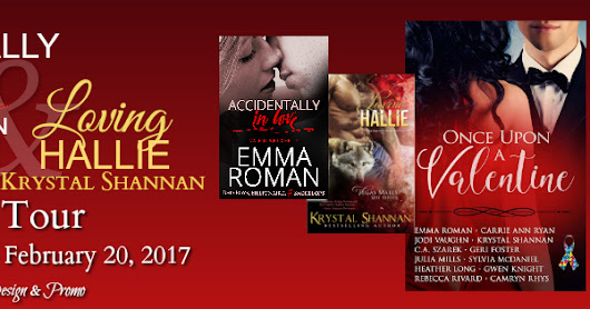 "Blog Tour & Giveaway: Emma Roman's ""Accidentally In Love"" and Krystal Shannan's ""Loving Hallie"""