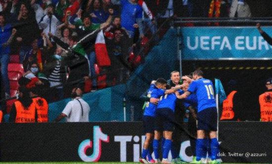 Sepakbola, Euro 2020, Piala Eropa, Italia, Spanyol, Final