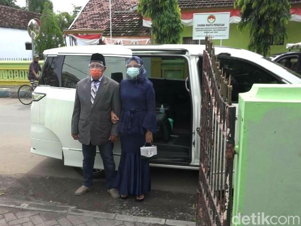 Viral,Warga Pinjam Mobil Dinas Wali Kota Probolinggo untuk Nikah
