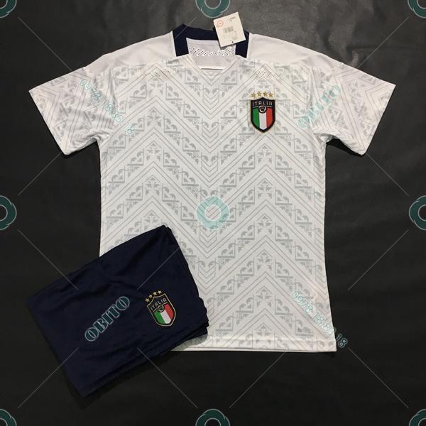Mẫu Áo Đá Banh Giá Rẻ Đội Tuyển Ý 2020