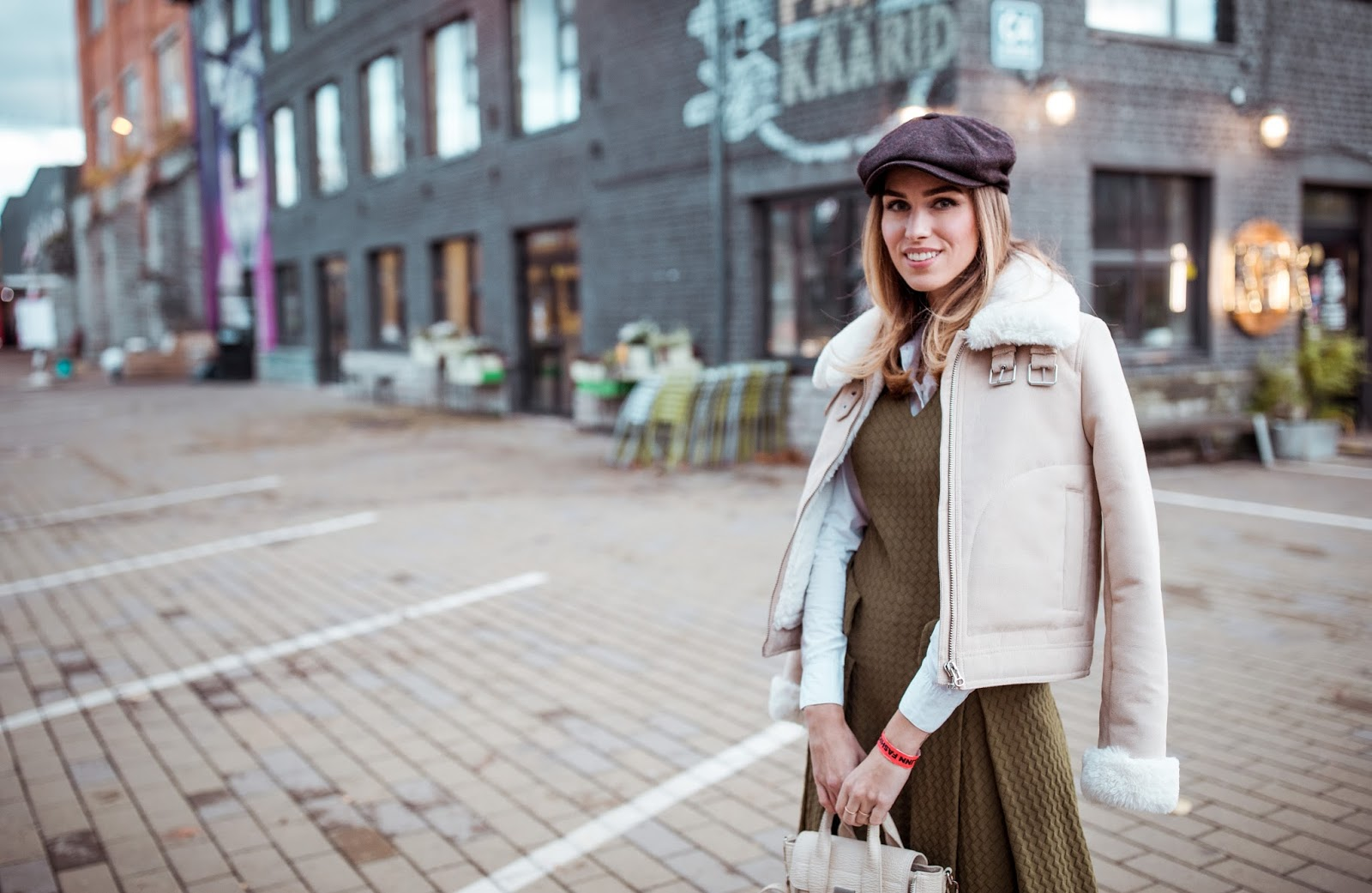 newsboy cap outfit fall