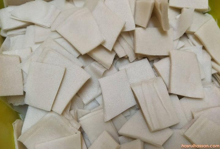 Cara Buat Cruncheese Sendiri Guna Kulit Popia