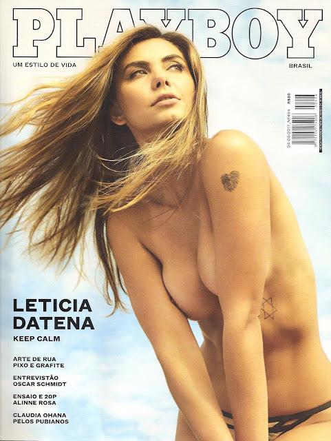 Playboy Abril – Leticia Wiermann