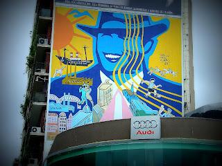 Homenagem de Vilaró à Cidade de Buenos Aires, na Recoleta