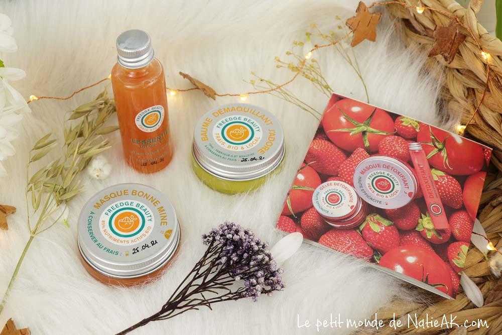 Freedge Beauty  soins frais aux fruits et légumes