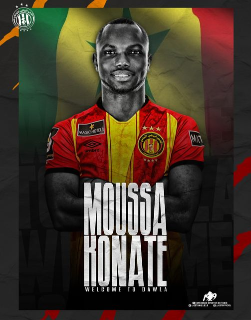 Moussa Konaté Taraji Esperance de Tunis