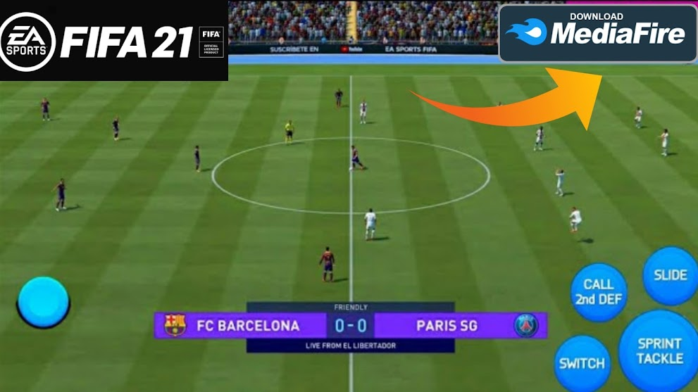 FIFA 21 ANDROID OFFLINE 900MB NEW UPDATE BEST GRAPHICS LAST TRANSFERS