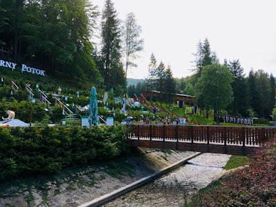 Hotel Czarny Potok, Krynica Zdrój, mini golf