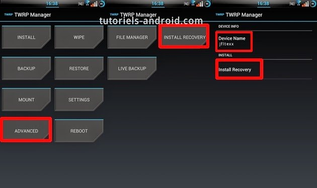 TWRP Manager App Android