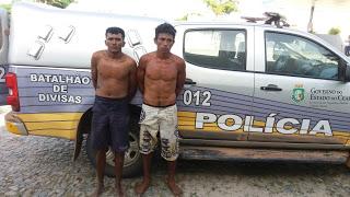 BARROQUINHA-CE: POLICIAIS MILITARES DO BATALHÃO DE DIVISAS RECAPTURAM DOIS FORAGIDOS DA CADEIA PÚBLICA DE CAMOCIM