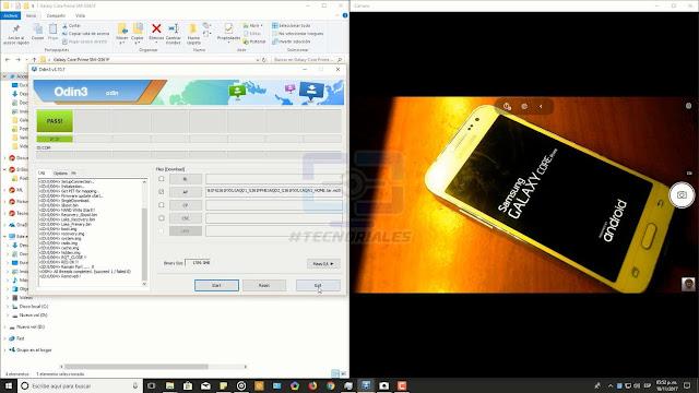 reiniciando Samsung Galaxy core prime lte