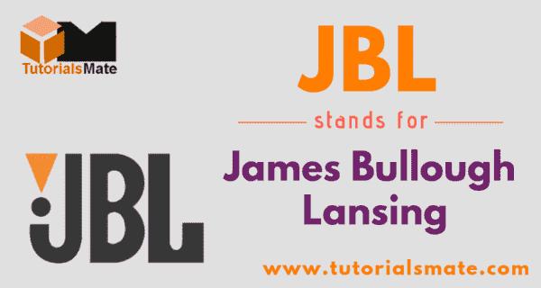 JBL Full Form