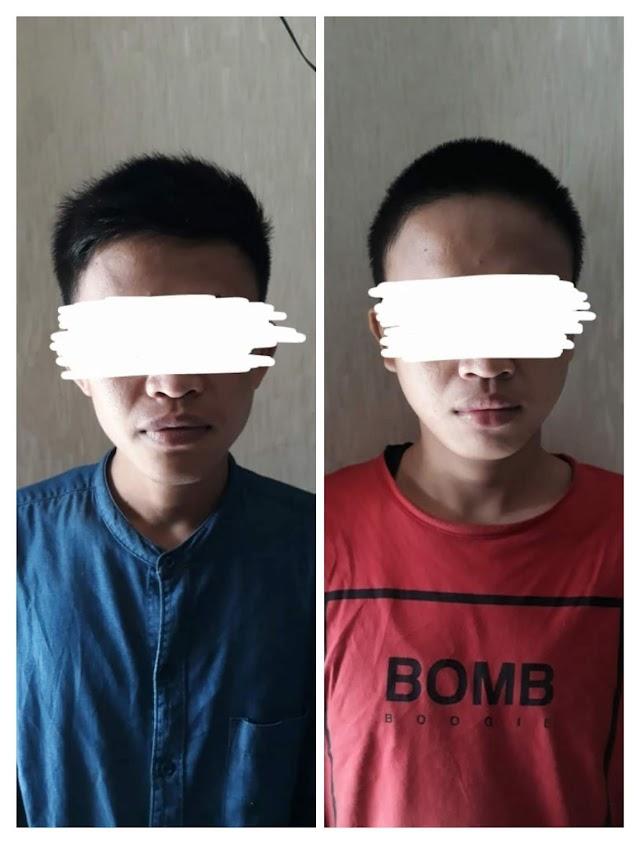 Polsek Cikupa Tangerang, Berhasil Bekuk Dua Pelaku Curat