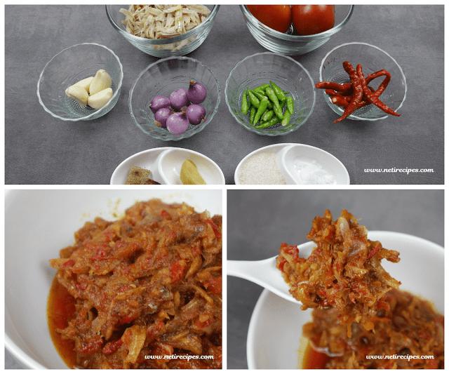 Resep Sambal Teri Tomat
