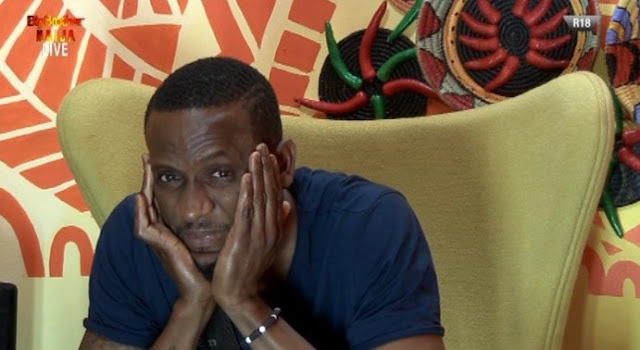 #BBNaija 2019: Omashola's behavior in the diary room during the live nomination show generates lots of funny comments on social media (video)