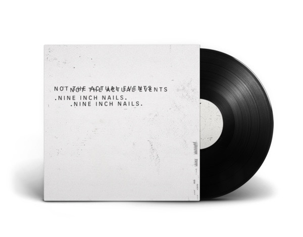 TheRecordStore presents Not The Actual Events vinyl from NIN