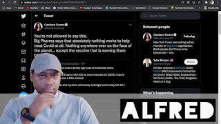 Why Mainstream Media Claims Only The Vax NWO Big Pharma Pushes Is Good, Everything Else Is Bad : Alfred Speaks