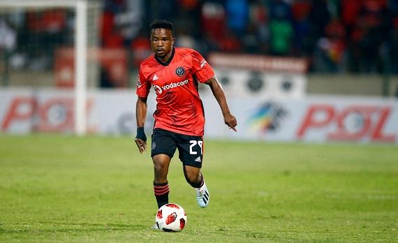 Orlando Pirates left-back Paseka Mako