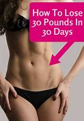 How to Lose 30 Pounds in 30 Days for Dummies