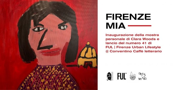"Arte: a Firenze la mostra ""Firenze Mia"" dell'artista tredicenne Clara Woods"