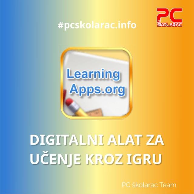 DIGITALNI ALATI - LEARNINGAPPS - materijal za 1.razred OŠ