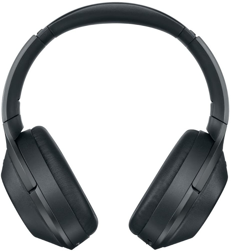 Sony MDR 1000X headphones front view