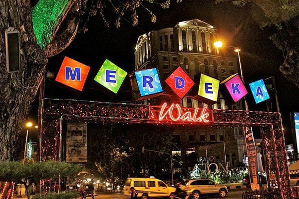 Merdeka Walk tempat wisata di Medan yang wajib dikunjungi