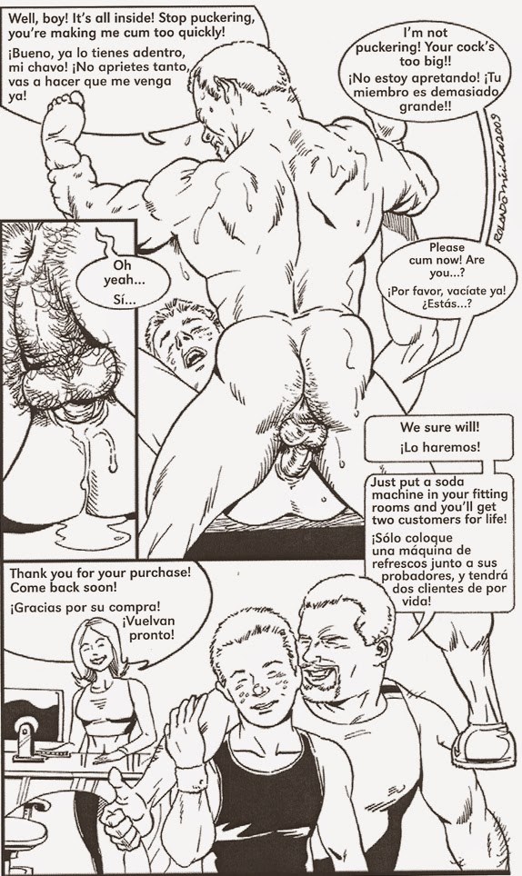 ROLANDO MERIDA GAY COMICS