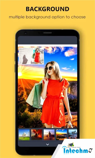 Photos Background changer by Oxcidapps aplikasi untuk mengganti background foto otomatis di android