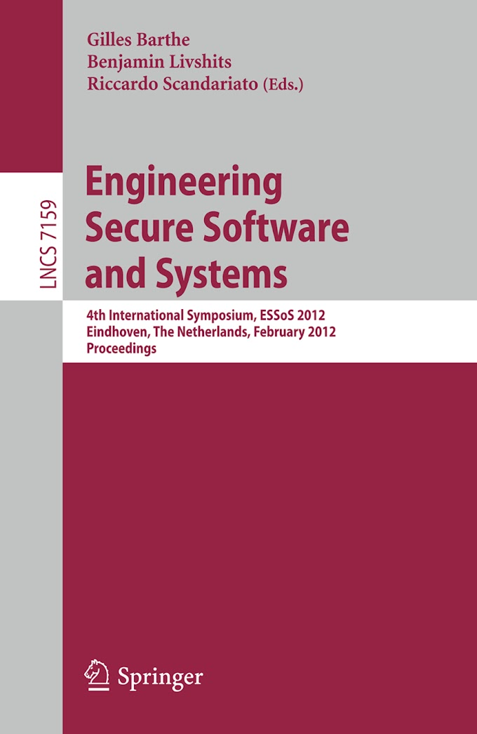 Engineering Secure Software and Systems: Springer
