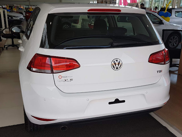 VW Golf Comfortline TSI 2017