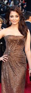 Aishwarya Rai In Brown Dress