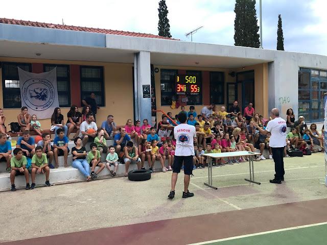 KIVERI ATHLETICS 2019: Οδηγίες για τους σεισμούς από της Ελληνική Ομάδα Διάσωσης