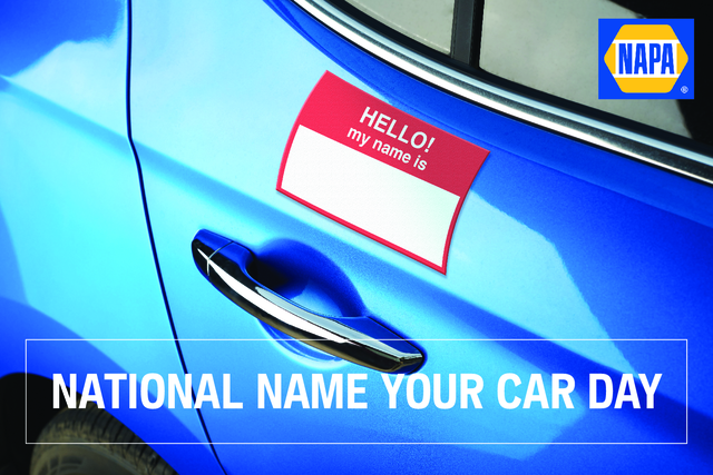 National Name Your Car Day Wishes For Facebook