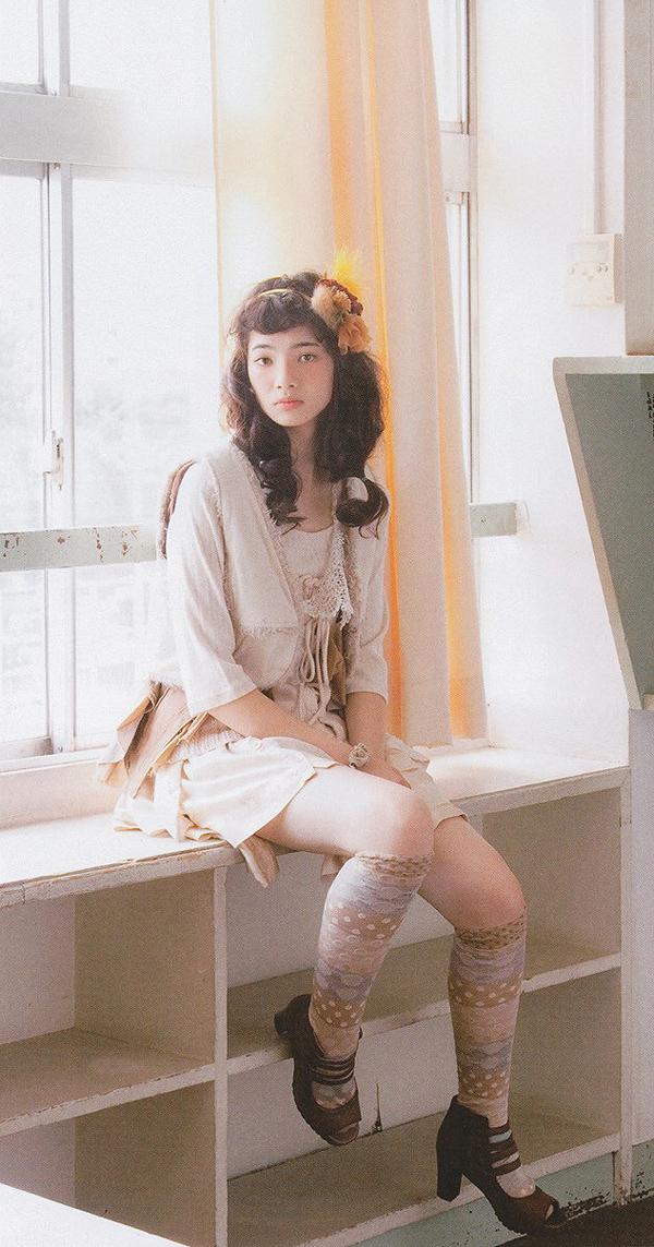 Moko Moko Love Mori Girl Papier