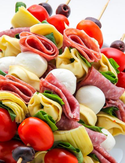 Antipasto Skewers #healthydiet #paleo #keto #food #kategonic